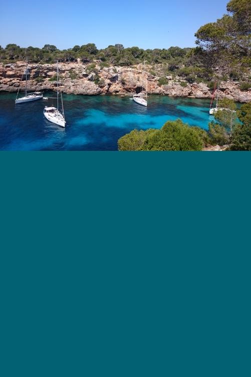 Cala Pi Mallorca Sailing Yacht Sandy Beach
