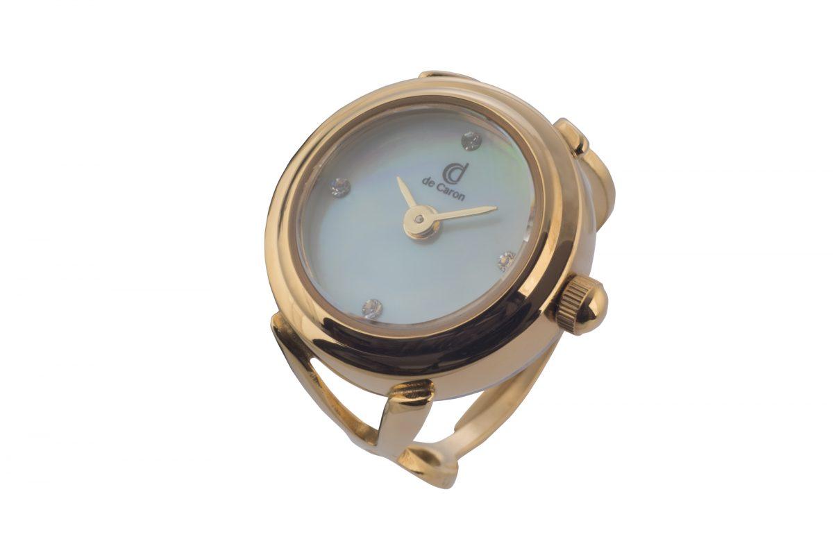 Gold finger watch