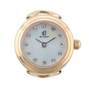 Gold Watch Ring Swarovski