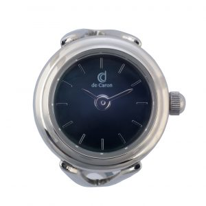silver ring watch