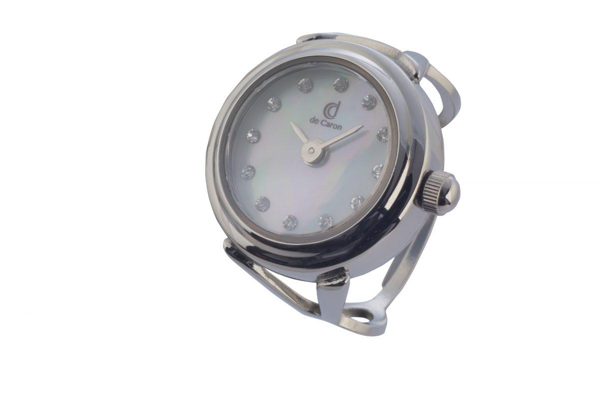 silver watch ring swarovski