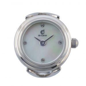 Unisex finger ring watch