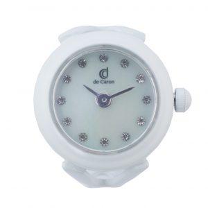 White Watch Ring