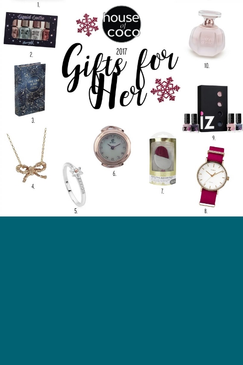 de Caron rose gold watch ring is featured in the Christmas Gift guide of House of Coco Magazine