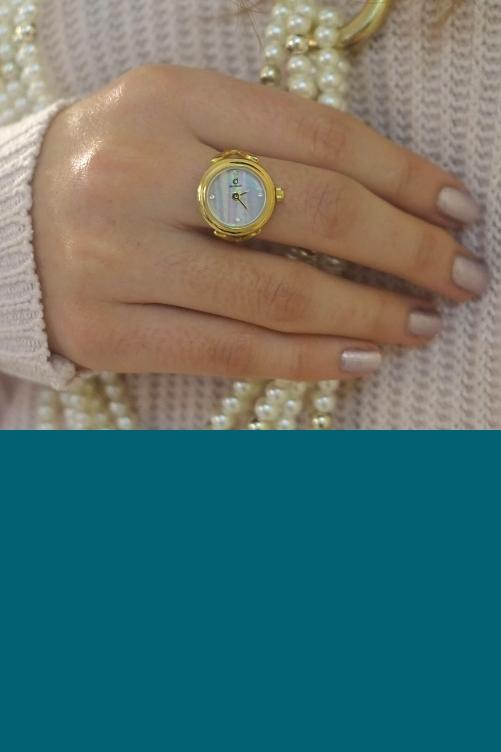 functional benefits gold watch ring de caron